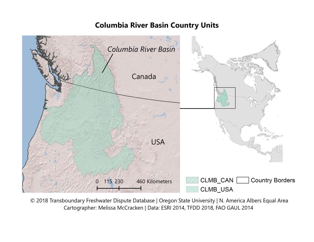 Transboundary Freshwater Spatial Database Program In Water