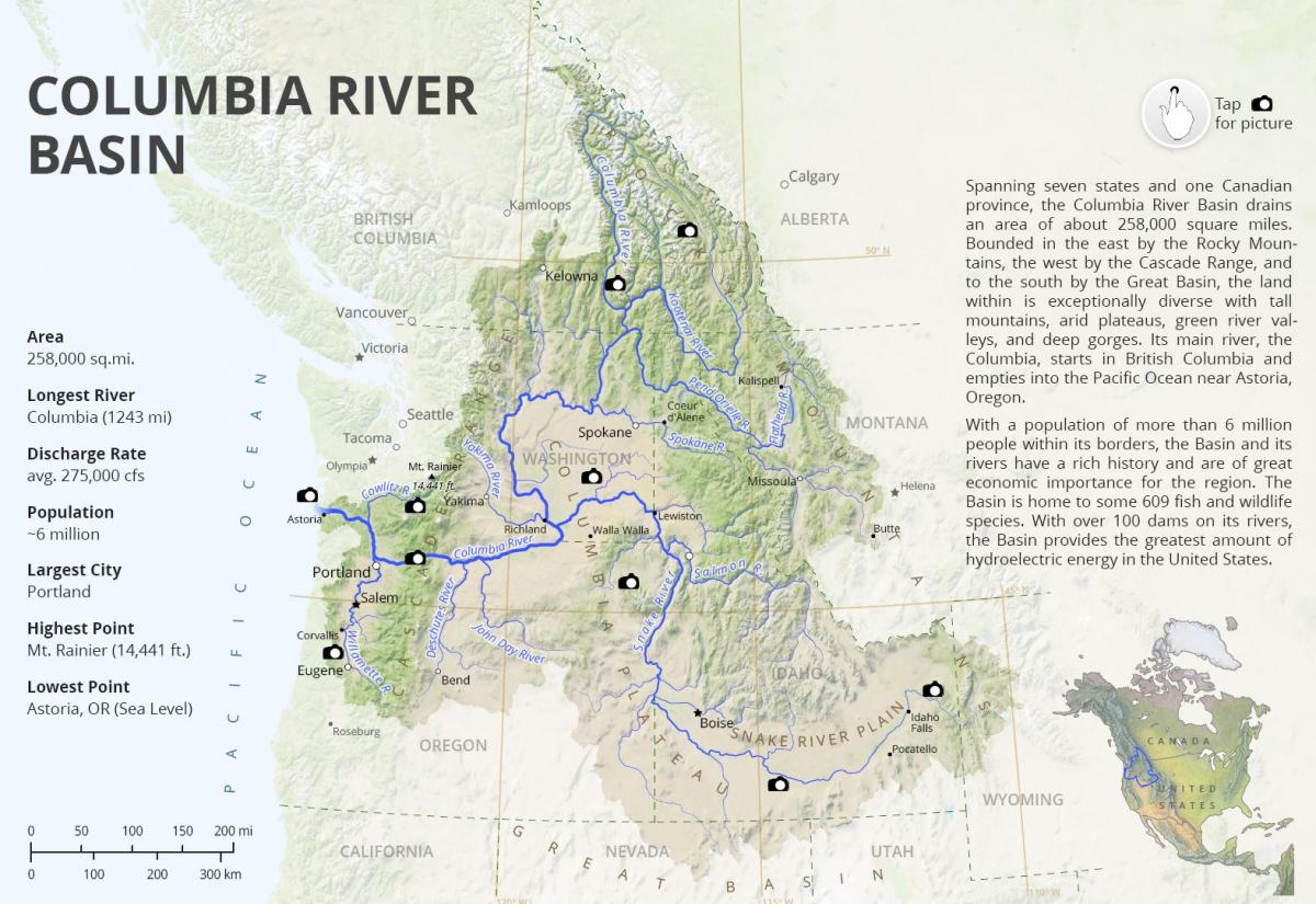 Collection Of Research And Datasets On The Columbia River